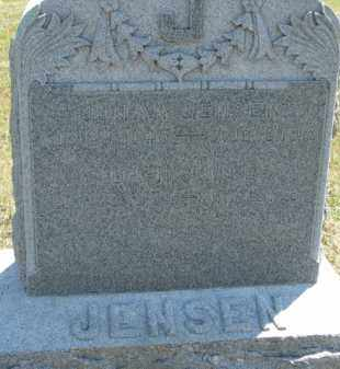 JENSEN, JOHAN - Cedar County, Nebraska | JOHAN JENSEN - Nebraska Gravestone Photos