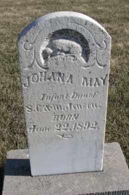 JENSEN, JOHANA MAY - Cedar County, Nebraska | JOHANA MAY JENSEN - Nebraska Gravestone Photos