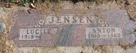 JENSEN, LUCILE - Cedar County, Nebraska | LUCILE JENSEN - Nebraska Gravestone Photos