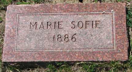JENSEN, MARIE SOFIE - Cedar County, Nebraska | MARIE SOFIE JENSEN - Nebraska Gravestone Photos