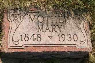 JENSEN, MARY - Cedar County, Nebraska | MARY JENSEN - Nebraska Gravestone Photos