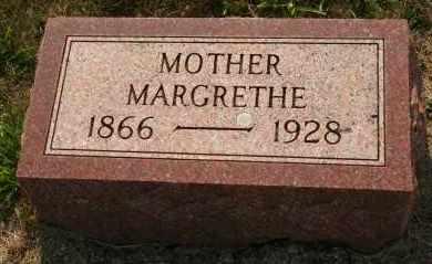 JENSEN, MARGRETHE - Cedar County, Nebraska | MARGRETHE JENSEN - Nebraska Gravestone Photos