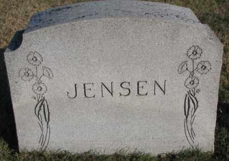 JENSEN, PLOT - Cedar County, Nebraska   PLOT JENSEN - Nebraska Gravestone Photos