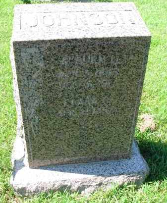 JOHNSON, AUBURN L. - Cedar County, Nebraska | AUBURN L. JOHNSON - Nebraska Gravestone Photos