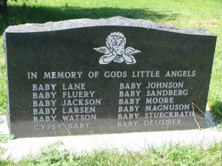 JOHNSON, BABY - Cedar County, Nebraska | BABY JOHNSON - Nebraska Gravestone Photos