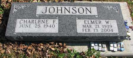 JOHNSON, CHARLENE F. - Cedar County, Nebraska | CHARLENE F. JOHNSON - Nebraska Gravestone Photos