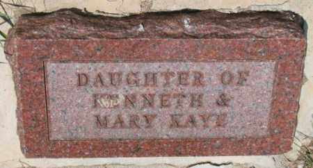 JOHNSON, DAUGHTER - Cedar County, Nebraska | DAUGHTER JOHNSON - Nebraska Gravestone Photos