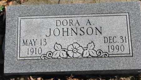 JOHNSON, DORA A. - Cedar County, Nebraska   DORA A. JOHNSON - Nebraska Gravestone Photos