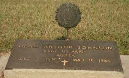 JOHNSON, DEAN ARTHUR - Cedar County, Nebraska   DEAN ARTHUR JOHNSON - Nebraska Gravestone Photos