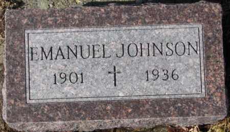 JOHNSON, EMANUEL - Cedar County, Nebraska | EMANUEL JOHNSON - Nebraska Gravestone Photos