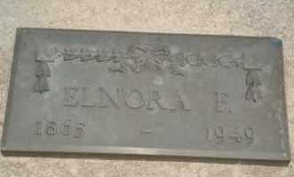 JOHNSON, ELNORA F - Cedar County, Nebraska   ELNORA F JOHNSON - Nebraska Gravestone Photos