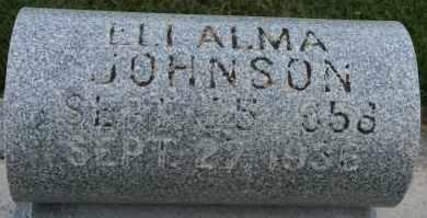 JOHNSON, ELI ALMA - Cedar County, Nebraska | ELI ALMA JOHNSON - Nebraska Gravestone Photos