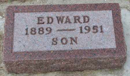 JOHNSON, EDWARD - Cedar County, Nebraska | EDWARD JOHNSON - Nebraska Gravestone Photos