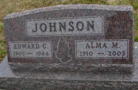 JOHNSON, ALMA M. - Cedar County, Nebraska | ALMA M. JOHNSON - Nebraska Gravestone Photos