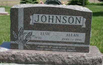 JOHNSON, ALL - Cedar County, Nebraska | ALL JOHNSON - Nebraska Gravestone Photos