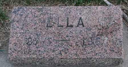 JOHNSON, ELLA - Cedar County, Nebraska | ELLA JOHNSON - Nebraska Gravestone Photos