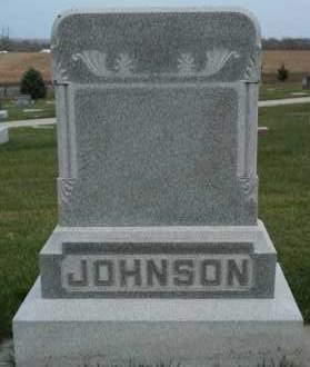 JOHNSON, FAMILY - Cedar County, Nebraska | FAMILY JOHNSON - Nebraska Gravestone Photos