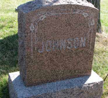 JOHNSON, FAMILY STONE - Cedar County, Nebraska | FAMILY STONE JOHNSON - Nebraska Gravestone Photos