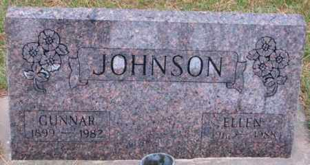 JOHNSON, GUNNAR - Cedar County, Nebraska | GUNNAR JOHNSON - Nebraska Gravestone Photos