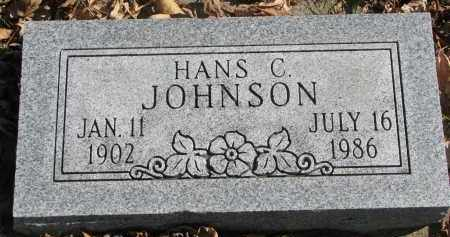 JOHNSON, HANS C. - Cedar County, Nebraska | HANS C. JOHNSON - Nebraska Gravestone Photos