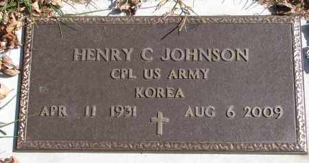 JOHNSON, HENRY C. (MILITARY) - Cedar County, Nebraska | HENRY C. (MILITARY) JOHNSON - Nebraska Gravestone Photos