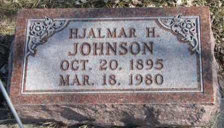 JOHNSON, HJALMAR H. - Cedar County, Nebraska   HJALMAR H. JOHNSON - Nebraska Gravestone Photos