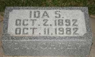 JOHNSON, IDA S - Cedar County, Nebraska   IDA S JOHNSON - Nebraska Gravestone Photos