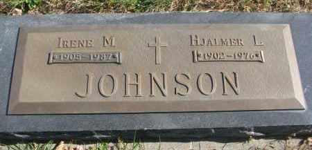 JOHNSON, HJALMER L. - Cedar County, Nebraska | HJALMER L. JOHNSON - Nebraska Gravestone Photos