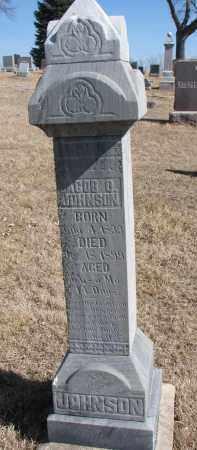 JOHNSON, JACOB O. - Cedar County, Nebraska | JACOB O. JOHNSON - Nebraska Gravestone Photos