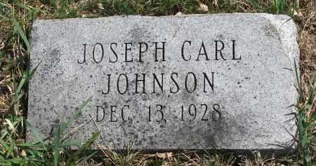 JOHNSON, JOSEPH CARL - Cedar County, Nebraska | JOSEPH CARL JOHNSON - Nebraska Gravestone Photos