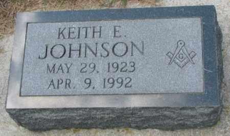 JOHNSON, KEITH E. - Cedar County, Nebraska | KEITH E. JOHNSON - Nebraska Gravestone Photos