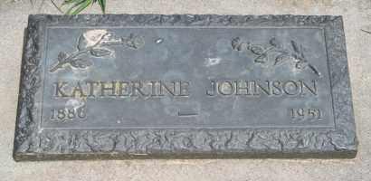 JOHNSON, KATHERINE - Cedar County, Nebraska | KATHERINE JOHNSON - Nebraska Gravestone Photos