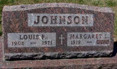 JOHNSON, MARGARET L. - Cedar County, Nebraska | MARGARET L. JOHNSON - Nebraska Gravestone Photos
