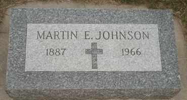 JOHNSON, MARTIN E - Cedar County, Nebraska | MARTIN E JOHNSON - Nebraska Gravestone Photos