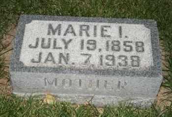 JOHNSON, MARIE I - Cedar County, Nebraska | MARIE I JOHNSON - Nebraska Gravestone Photos