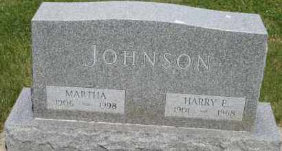 JOHNSON, MARTHA - Cedar County, Nebraska | MARTHA JOHNSON - Nebraska Gravestone Photos