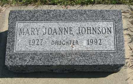 JOHNSON, MARY JOANNE - Cedar County, Nebraska | MARY JOANNE JOHNSON - Nebraska Gravestone Photos