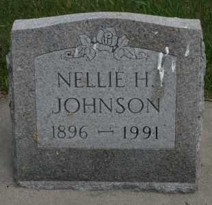 JOHNSON, NELLIE H - Cedar County, Nebraska   NELLIE H JOHNSON - Nebraska Gravestone Photos