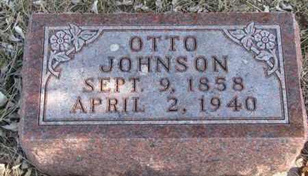 JOHNSON, OTTO - Cedar County, Nebraska | OTTO JOHNSON - Nebraska Gravestone Photos