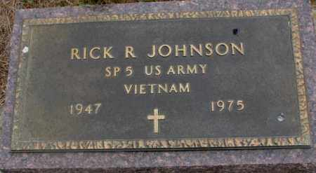 JOHNSON, RICK R. - Cedar County, Nebraska   RICK R. JOHNSON - Nebraska Gravestone Photos
