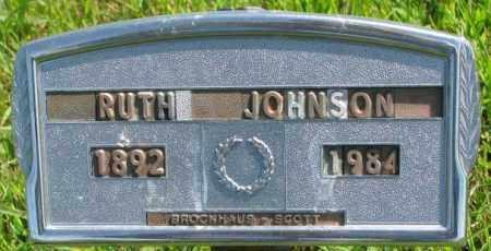JOHNSON, RUTH - Cedar County, Nebraska   RUTH JOHNSON - Nebraska Gravestone Photos
