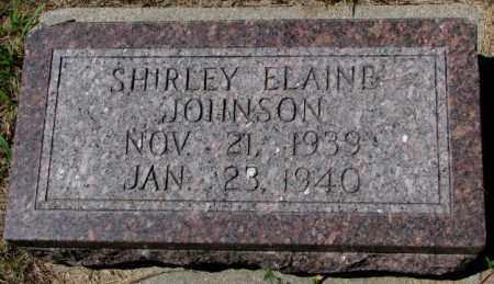 JOHNSON, SHIRLEY ELAINE - Cedar County, Nebraska | SHIRLEY ELAINE JOHNSON - Nebraska Gravestone Photos