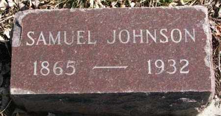 JOHNSON, SAMUEL - Cedar County, Nebraska | SAMUEL JOHNSON - Nebraska Gravestone Photos