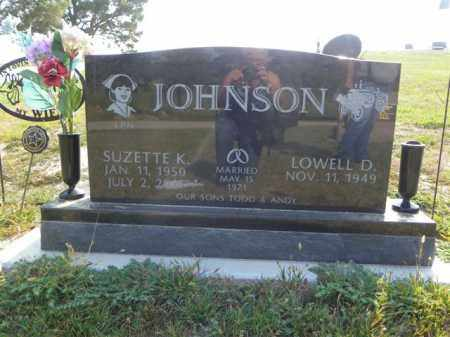 JOHNSON, SUZETTE K - Cedar County, Nebraska | SUZETTE K JOHNSON - Nebraska Gravestone Photos