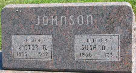 JOHNSON, VICTOR A. - Cedar County, Nebraska | VICTOR A. JOHNSON - Nebraska Gravestone Photos
