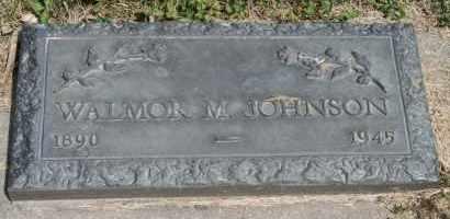 JOHNSON, WALMOR M - Cedar County, Nebraska | WALMOR M JOHNSON - Nebraska Gravestone Photos