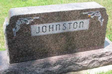 JOHNSTON, PLOT - Cedar County, Nebraska | PLOT JOHNSTON - Nebraska Gravestone Photos