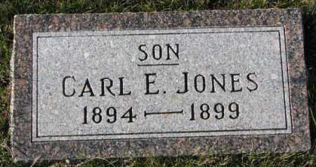 JONES, CARL E. - Cedar County, Nebraska | CARL E. JONES - Nebraska Gravestone Photos