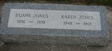 JONES, DUANE - Cedar County, Nebraska | DUANE JONES - Nebraska Gravestone Photos