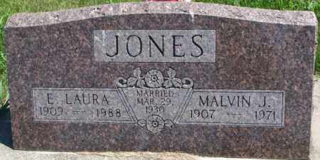 JONES, MALVIN J. - Cedar County, Nebraska | MALVIN J. JONES - Nebraska Gravestone Photos